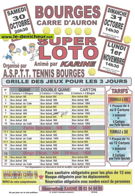w01 - LUN 01 novembre - BOURGES - Loto de l'ASPTT Tennis */ 11-01_40