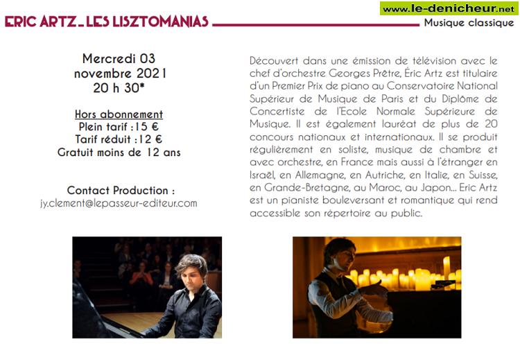 w03 - MER 03 novembre - LE POINCONNET - Eric Artz (musique classique) */ 11-0314