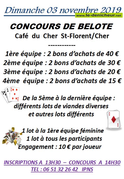 w03 - DIM 03 novembre - ST-FLORENT /Cher - Concours de belote .*/ 11-03_23