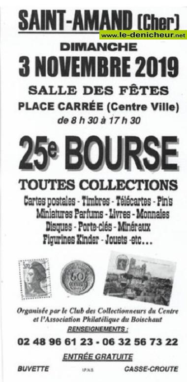 w03 - DIM 03 novembre - ST-AMAND-MONTROND - Bourse toutes collections * 11-03_26