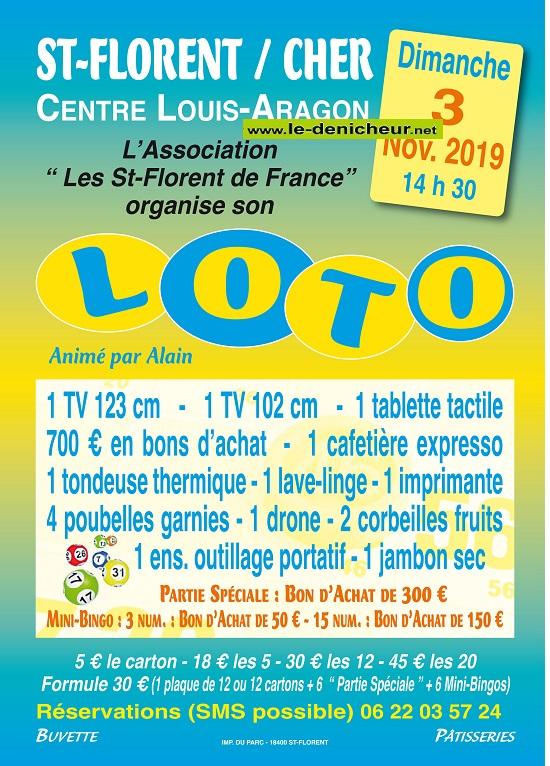 w03 - DIM 03 novembre - ST-FLORENT /Cher - Loto des St Florent de France */ 11-03_41