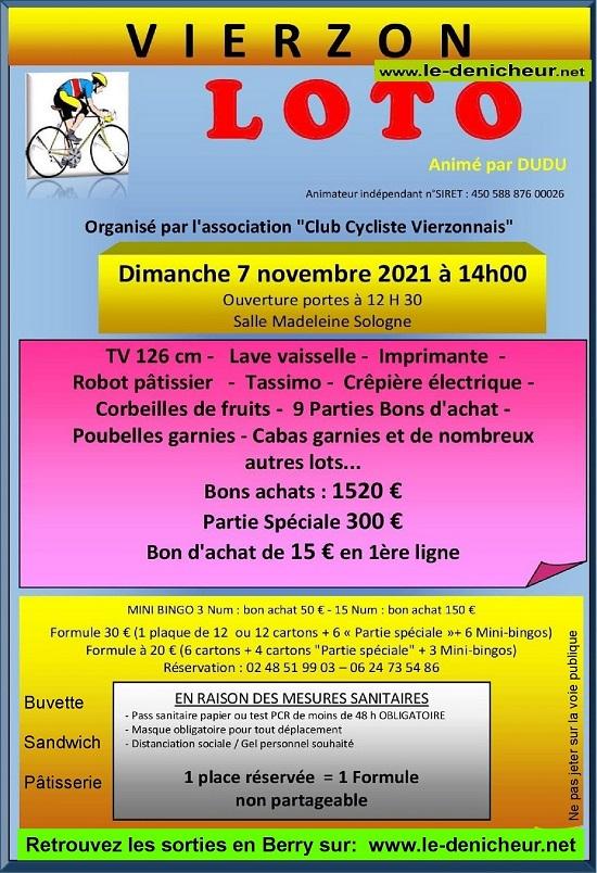 w07 - DIM 07 novembre - VIERZON - Loto du Club Cycliste Vierzonnais */ 11-07_16