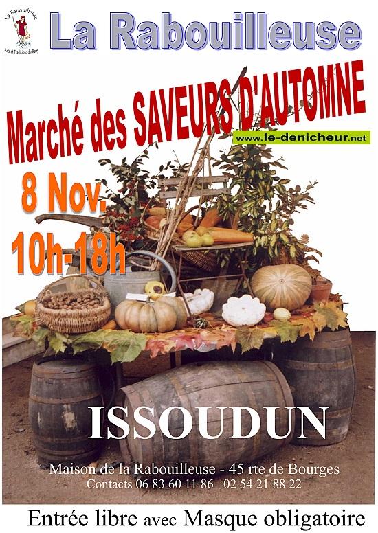 k08 - DIM 08 novembre - ISSOUDUN - Marché des Saveurs d'Automne */ 11-08_23