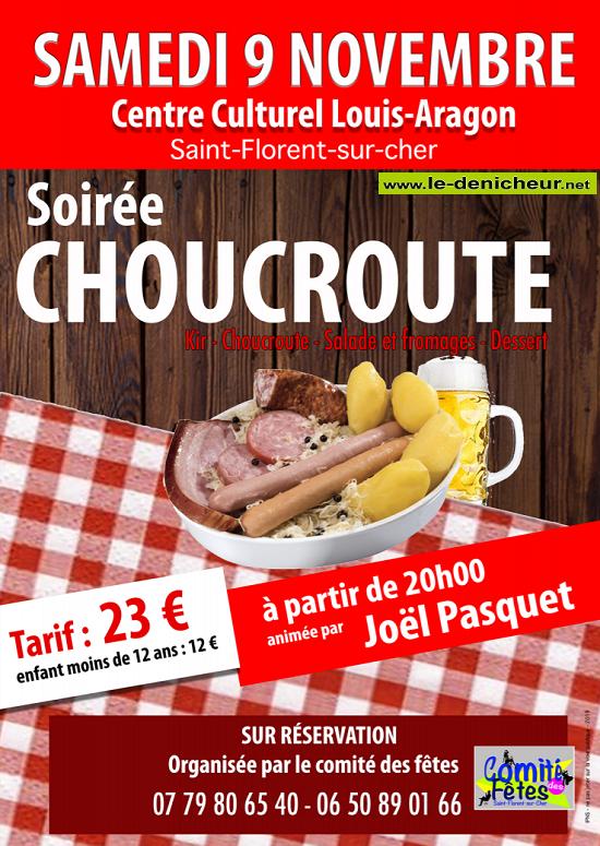 w09 - SAM 09 novembre - ST-FLORENT /Cher - Dîner dansant avec Joël Pasquet 11-09_13