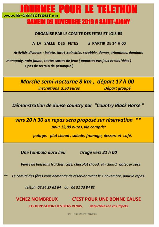 w09 - SAM 09 novembre - ST-AIGNY - Marche pour le Téléthon * 11-09_14