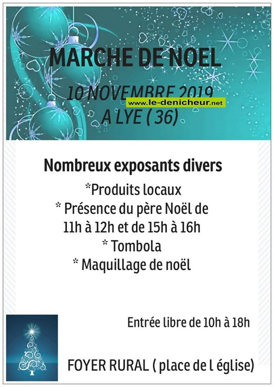 w10 - DIM 10 novembre - LYE - Marché de Noël * 11-10_39