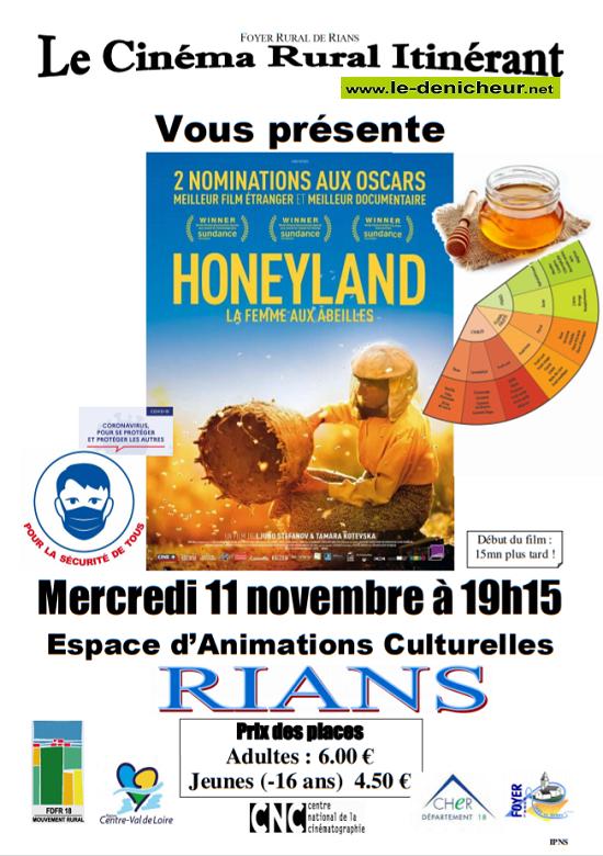 k11 - MER 11 novembre - RIANS - HoneyLand (cinéma ) 11-11_24