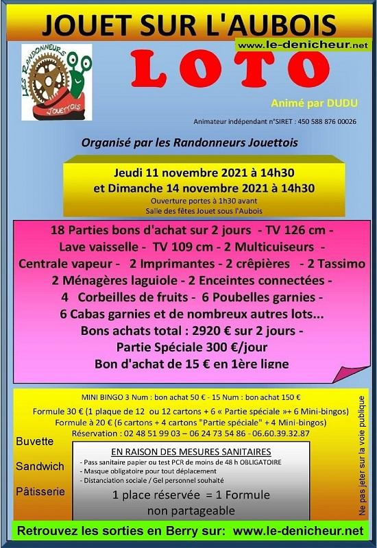 w11 - JEU 11 novembre - JOUET /l'Aubois - Loto des randonneurs jouettois  11-11_32
