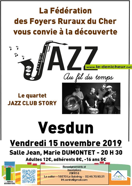 w15 - VEN 15 novembre - VESDUN - Quartet Jazz Club Story */ 11-15_14