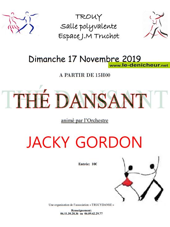w17 - DIM 17 novembre - TROUY - Thé dansant avec Jacky Gordon .*/ 11-17_23