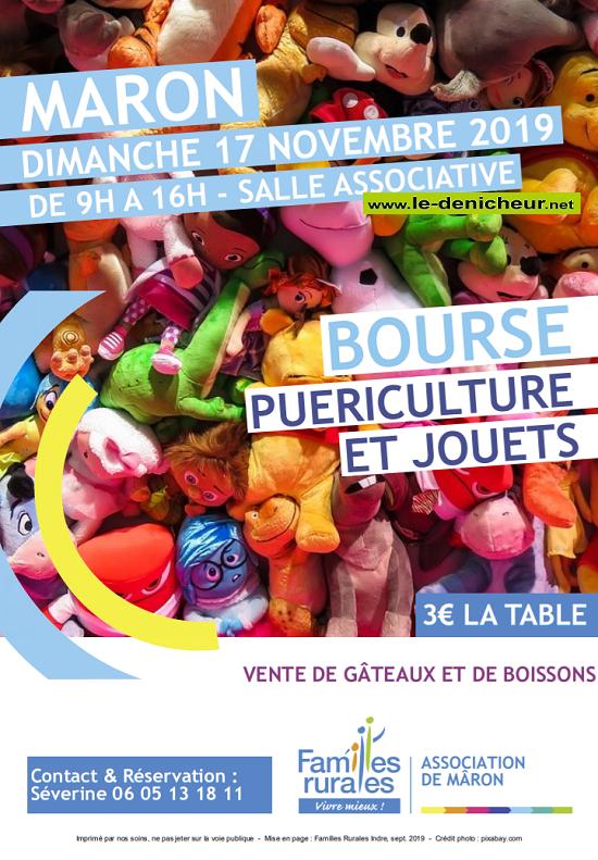 w17 - DIM 17 novembre - MARON - Bourse puériculture et jouets */ 11-17_27
