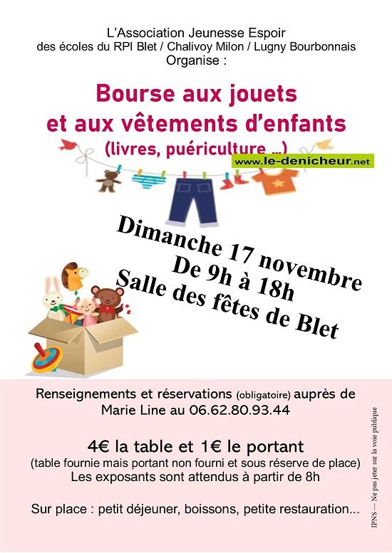 w17 - DIM 17 novembre - BLET - Bourse aux jouets, vêtements, puériculture _* 11-17_37
