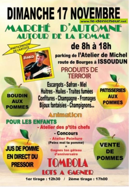 w17 - DIM 17 novembre - ISSOUDUN - Fête de la pomme */ 11-17_49