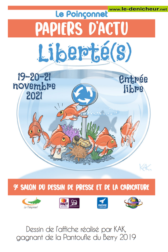 w19 - Du 19 au 21 novembre - LE POINCONNET - Salon du dessin de presse de la caricature 11-21_13