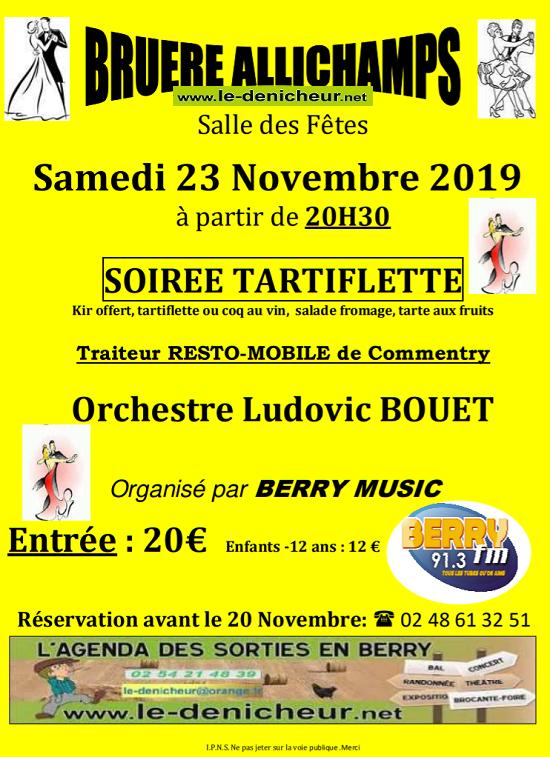 w23 - SAM 23 novembre - BRUERE-ALLICHAMPS - Dîner dansant avec Ludovic Bouet*/ 11-23_14