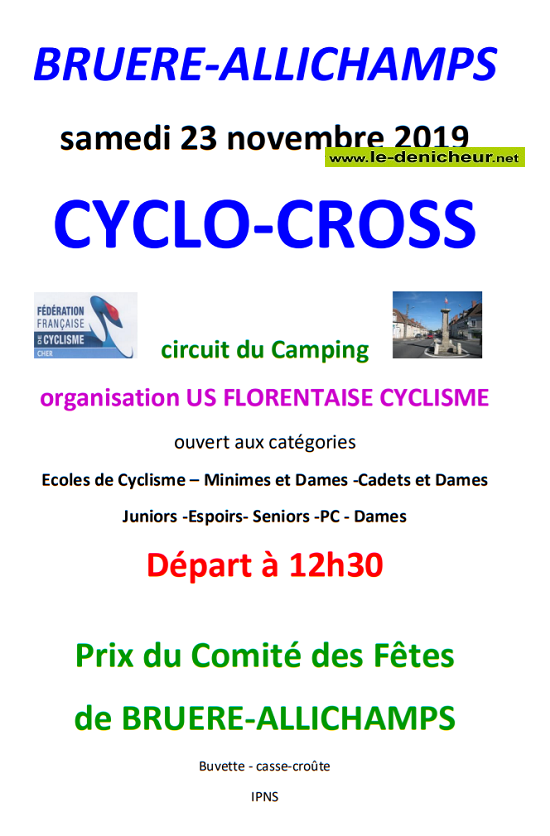 w23 - SAM 23 novembre - BRUERE-ALLICHAMPS - Cyclo Cross */ 11-23_17