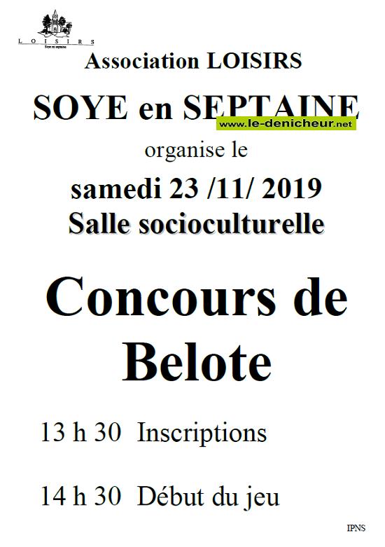 w23 - SAM 23 novembre - SOYE EN SEPTAINE - Concours de belote .*/ 11-23_19