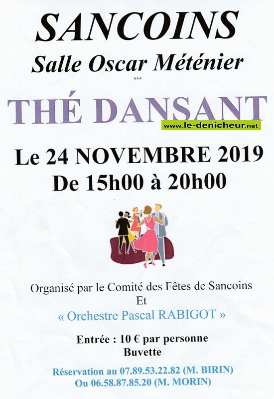 w24 - DIM 24 novembre - SANCOINS - Thé dansant avec Pascal Rabigot */ 11-24_29