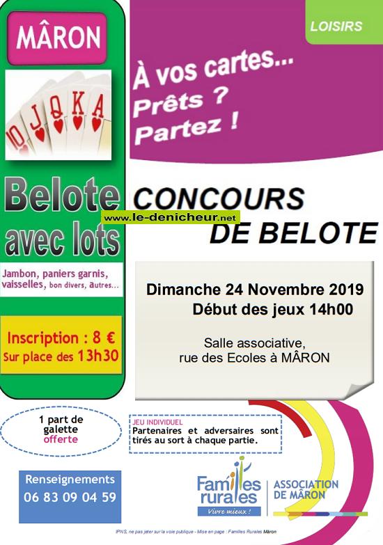 w24 - DIM 24 novembre - MÂRON - Concours de belote */ 11-24_30