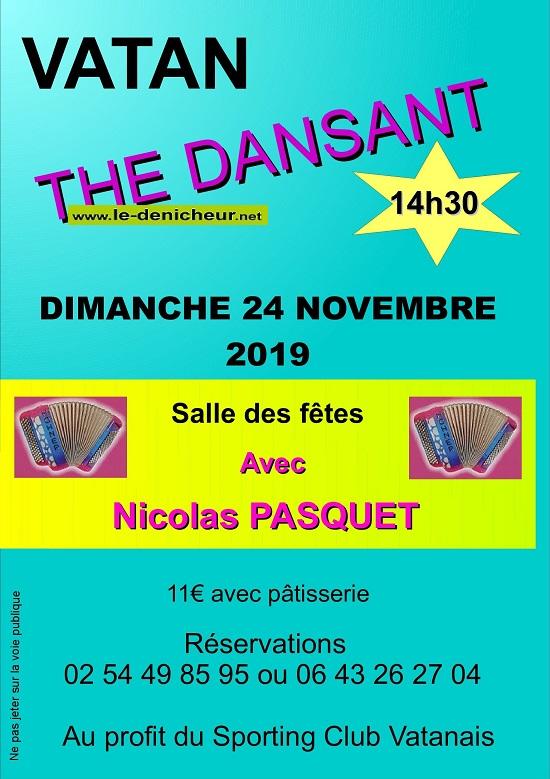 w24 - DIM 24 novembre - VATAN - Thé dansant avec Nicolas Pasquet 11-24_39