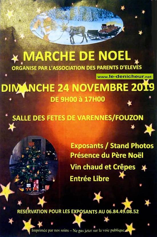 w24 - DIM 24 novembre - VARENNES /Fouzon - Marché de Noël * 11-24_43