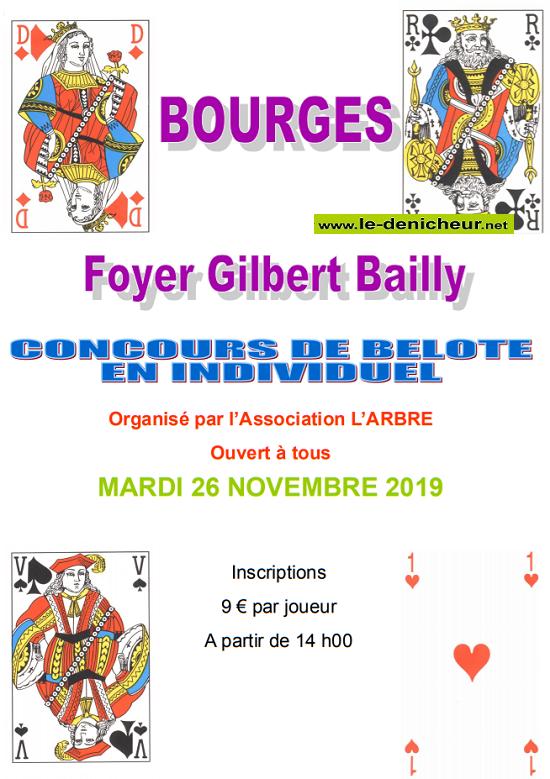 w26 - MAR 26 novembre - BOURGES - Concours de belote */ 11-26_10