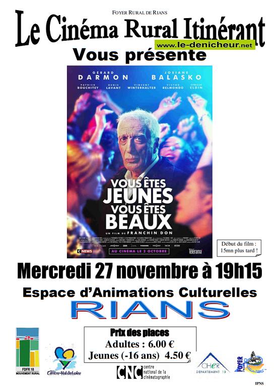 w27 - MER 27 novembre - RIANS - Vous êtes Jeunes, Vous êtes Beaux (cinéma) 11-27_10