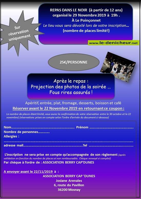 w29 - VEN 29 novembre - LE POINCONNET - Repas dans le noir */ 11-29_10