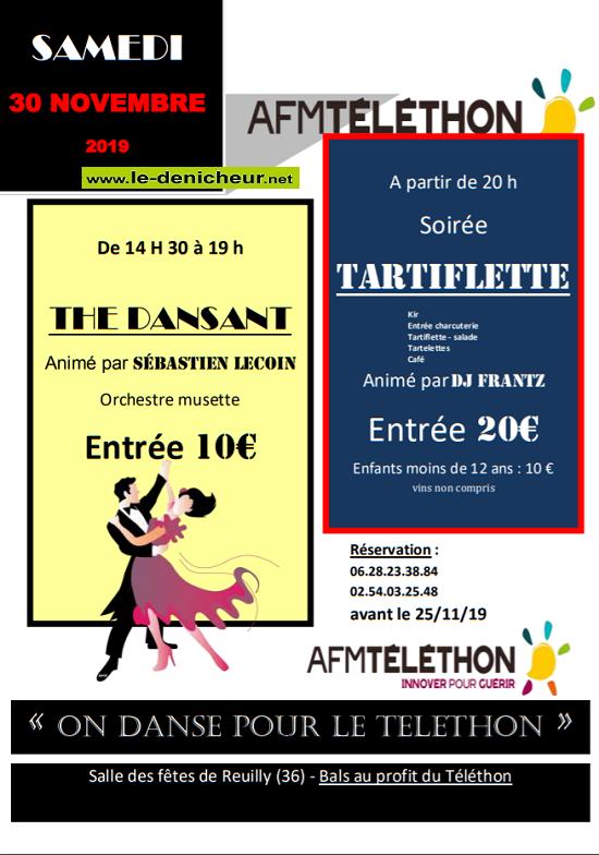 w30 - SAM 30 novembre - REUILLY - Thé dansant avec Sébastien Lecoin */ 11-30_12