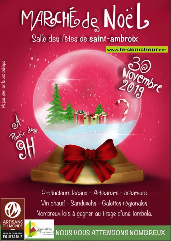 w30 - SAM 30 novembre - ST-AMBROIX - Marché de Noël des Aînés ruraux */ 11-30_23