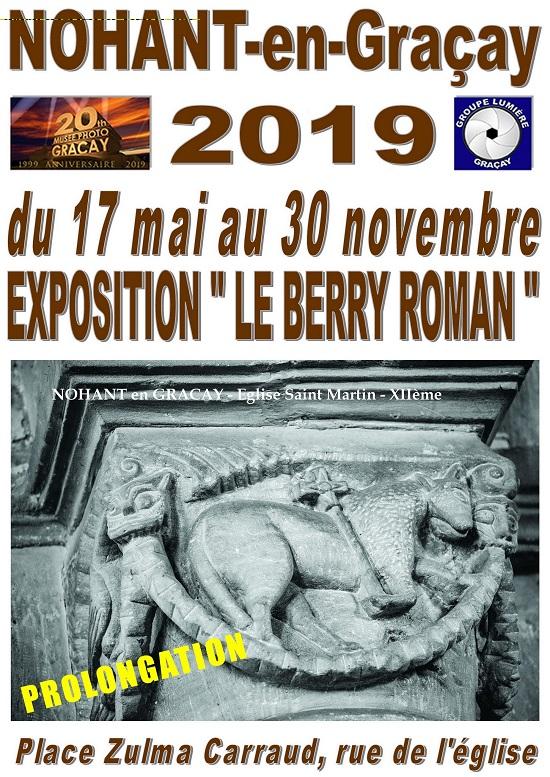 """w30 - Jusqu'au 30 novembre - NOHANT en Graçay - Exposition """"Le Berry roman""""*/ 11-30_24"""