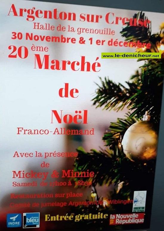 w30 - SAM 30 novembre - ARGENTON /Creuse - Marché de Noël * 11-30_29
