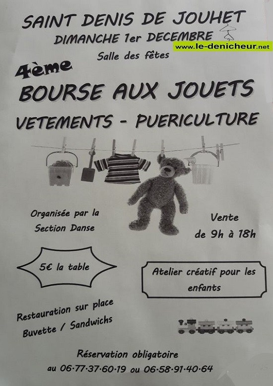 x01 - DIM 01 décembre - ST-DENIS DE JOUET - Bourse aux jouets, vêtements..., 12-01_31