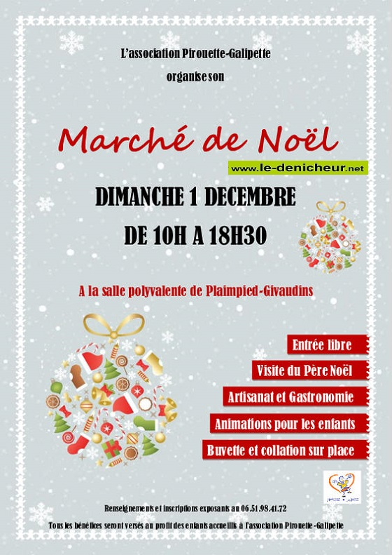 x01 - DIM 01 décembre - PLAIMPIED-GIVAUDINS - Marché de Noël */ 12-01_32