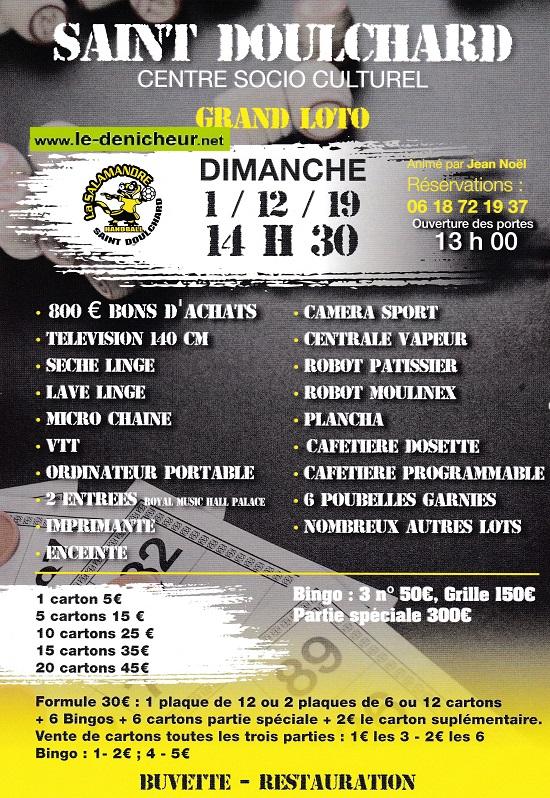 x01 - DIM 01 décembre - ST-DOULCHARD - Loto de la Salamandre Handball */ 12-01_35
