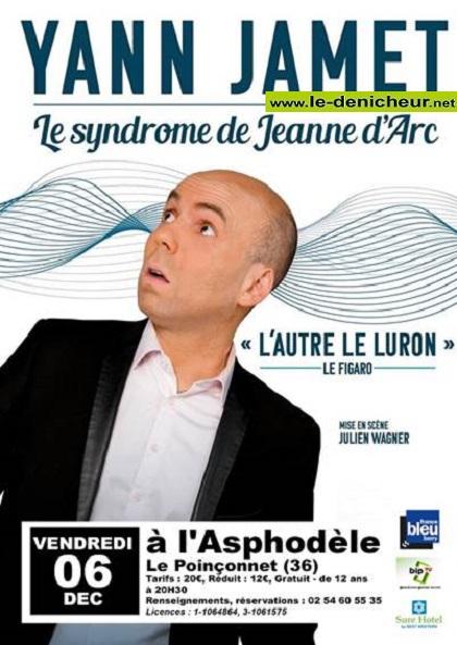 x06 - VEN 06 décembre - LE POINCONNET - Yann Jamet - Le syndrome de Jeanne d'Arc 12-06_13