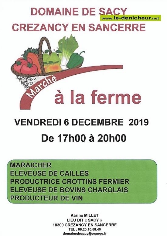 x06 - VEN 06 décembre - CREZANCY en Sancerre - Marché à la ferme *  12-06_17