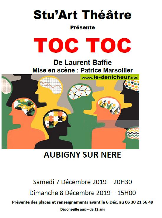 x08 - DIM 08 décembre - AUBIGNY /Nère - Toc Toc (théâtre) */ 12-07_10