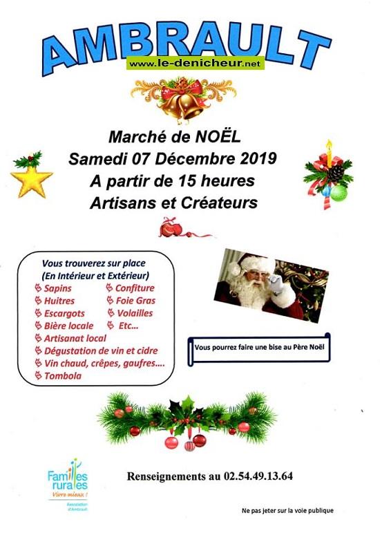 x07 - SAM 07 décembre - AMBRAULT - Marché de Noël 12-07_12