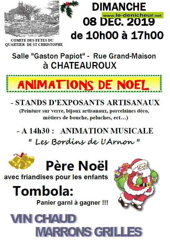 x08 - DIM 08 décembre - CHATEAUROUX - Marché de Noël .*/ 12-08_28