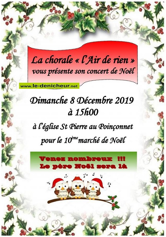 x08 - DIM 08 décembre - LE POINCONNET - Concert de chorale * 12-08_36