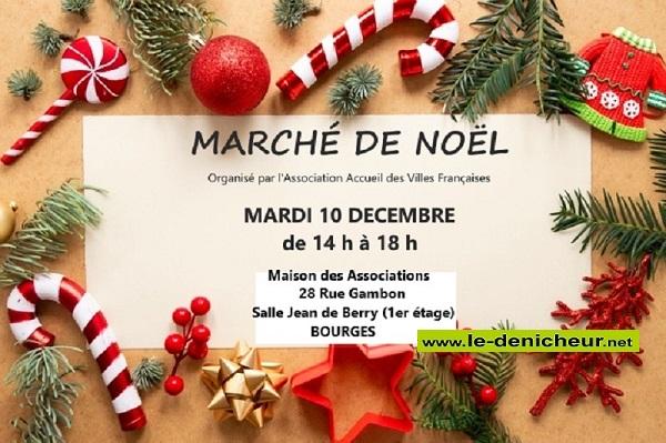 x10 - MAR 10 décembre - BOURGES - Marché de Noël * 12-10_14