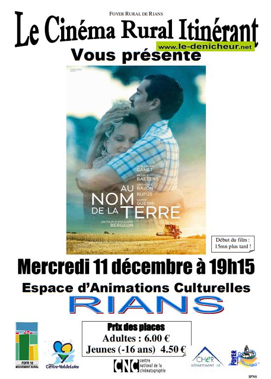 x11 - MER 11 décembre - RIANS - Au nom de la terre ( cinéma rural itinérant)*/ 12-11_10