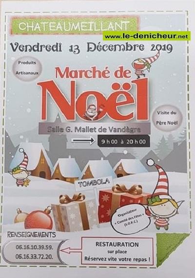 x13 - VEN 13 décembre - CHATEAUMEILLANT - Marché de Noël * 12-13_16