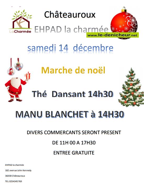 """x14 - SAM 14 décembre - CHATEAUROUX - Marché de Noël """"EHPAD La Charmée"""" 12-14_13"""