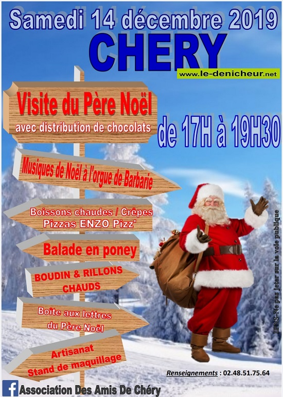 x14 - SAM 14 décembre - CHERY - Visite du Père Noël */ 12-14_29