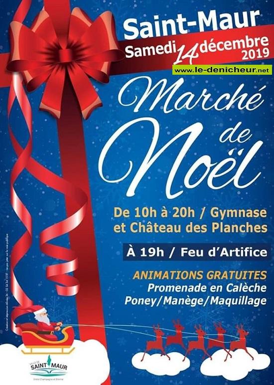 x14 - SAM 14 décembre - ST-MAUR - Marché de Noël */ 12-14_31