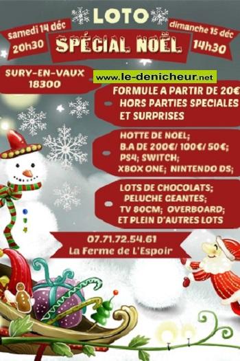 x14 - SAM 14 décembre - SURY EN VAUX - Loto de la Ferme de l'espoir */ 12-14_32