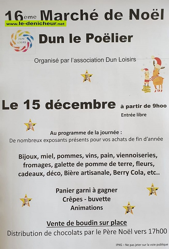 x15 - DIM 15 décembre - DUN LE POËLIER - Marché de Noël * 12-15_38