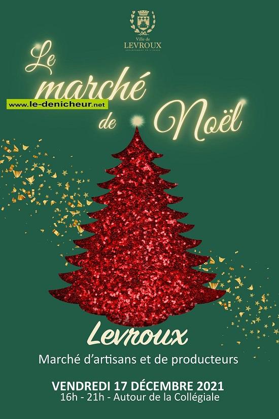 x17 - VEN 17 décembre - LEVROUX - Marché de Noël * 12-17_12